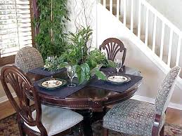 How To Decor Dining Table How To Decorate A Dining Room Table Great With Picture Of How To