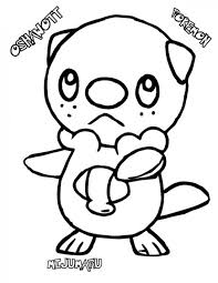 pokemon coloring pages totodile pokemon oshawott coloring pages pokemon coloring pages pinterest