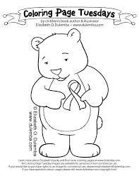dulemba coloring page tuesday tribute bear