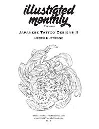 japanese tattoo designs ii by derek dufresne ebook illustrated