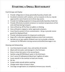 Free Business Plan Template Excel 5 Free Restaurant Business Plan Templates Excel Pdf Formats