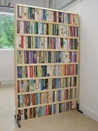 Wall Divider Bookcase 25 Coolest Room Partition Ideas Dividing Wall Book Wall And Room