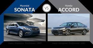 2016 hyundai sonata vs honda accord