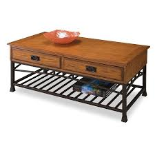 Home Styles Contemporary by Shop Home Styles Modern Craftsman Poplar Coffee Table At Lowes Com
