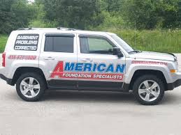 american foundation vehicle wrap suburban visuals inc