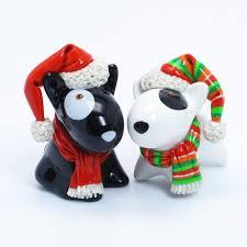 bull terrier lover gift figurine ornament statue