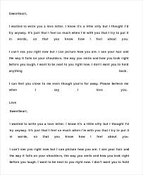 romantic love letter 5 free word documents download free