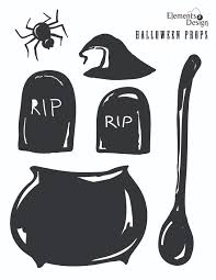 halloween stage props printable 03 set the stage