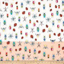 alexander henry june bug tropical types single border natural
