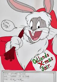 bugs bunny christmas poster finnarts deviantart