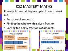 fractions of amounts investigation for primary ks1 u0026 ks2
