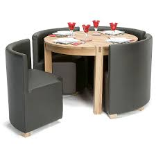 space saving end table amazing round space saving dining table and chairs viscount space