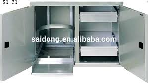 stainless steel cabinets for outdoor kitchens stainless steel outdoor kitchen cabinets faced