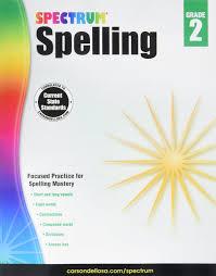 spectrum spelling grade 2 spectrum 9781483811758 amazon com books