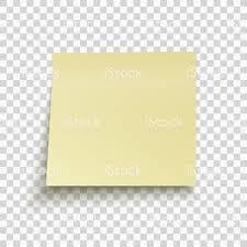 pense bete bureau pensebête jaune isolé sur fond transparent note du bureau pour le