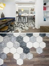idee deco mur cuisine attractive idee deco mur cuisine 4 le carrelage hexagonal une