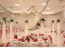 bridal shower decoration ideas with yellow color home decor and
