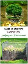 composting guide tips for making compost in your back yard