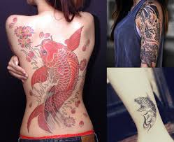 koi tattoo which way should it face 10 stunning koi tattoo ideas with meaning the legend fmag com