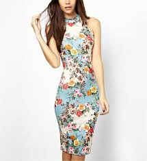 fitted dresses summer floral fitted dress rings tings online fashion store