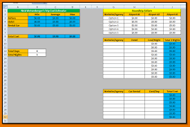 Excel Spreadsheet Example Excel Spreadsheet Template Trip1 Png Scope Of Work Template