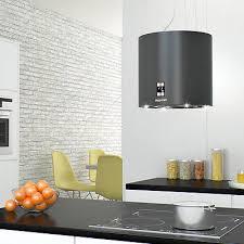 hotte cuisine ilot bergstroem design hotte de cuisine îlot en suspension acier inox