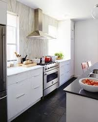 Kitchen Cabinet Photos Small Kitchen 9x15 Floor To Ceiling Cabinets Emphasize The