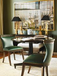 the jacqueline dining chairs and turner center table make for a