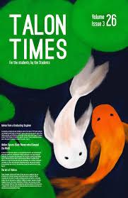 talon times vol 26 spring issue 2017 by talon times issuu