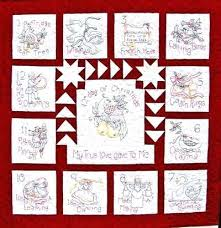 12 days of christmas quilt ornaments quilt pattern christmas quilt