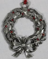24 best avon pewter ornaments images on pewter avon