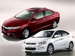 honda car comparison comparison of honda city and hyundai verna with the right