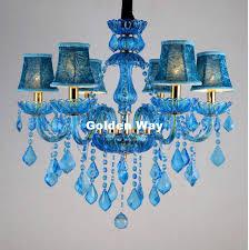 blue crystal chandelier light blue crystal chandelier lighting luxury crystal light modern