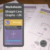 straight line graphs u0026 equations printables u0026 worksheets by