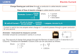 learnhive icse grade 9 physics current electricity lessons