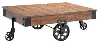 rustic coffee table with wheels photo of rustic coffee table with wheels rustic coffee table on