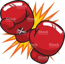 cartoon boxing gloves stock vector art 148771691 istock