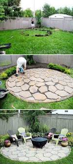 Build Firepit Build Firepit Area For Summer Nights Relaxing Backyard