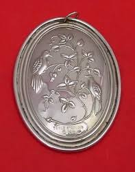 sterling silver ornaments