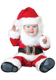 Infant Boy Costumes Halloween Santa Baby Costume Wonderful