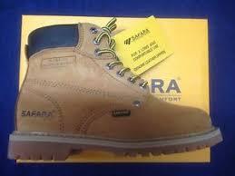 s boots wide width safara 6811 s work boots wide width s size 8 w ebay