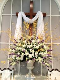 Easter Decorations Not On The High Street by Easter Flower Arrangements Church Church Flowers Home Decor