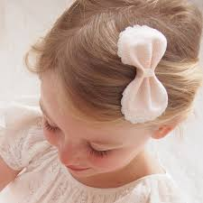 flower girl hair accessories lace flower girl bow hair clip flower girl bow pink lace