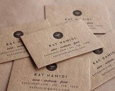 Recycle Paper Business Cards 250 Letterpress Business Cards Thick Brown Kraft Paper By Zoum