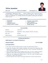 sle resume for business analyst fresher resume document margins business analysis cv europe tripsleep co
