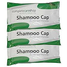 Comfort Personal Cleansing Shampoo Cap No Rinse Waterless Shampoo Caps Pack Of 3 Amazon Co Uk Beauty