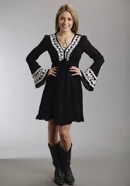 black western dress oasis amor fashion