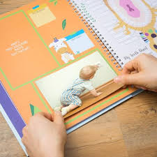 baby boy memory book ronica memory book for baby boy jungle theme