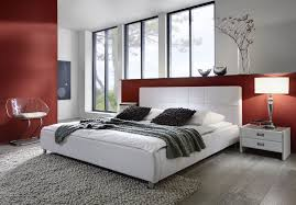 Schlafzimmer Bett 220 X 200 Sam Polsterbett Doppelbett Bett 200 X 220 Cm In Weiß Zarah