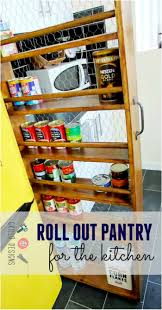 How To Make A Kitchen Pantry Cabinet by Diy Roll Out Kitchen Pantry U2022 Grillo Designs
